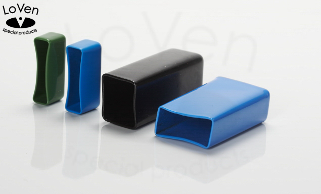 Square Plastic Caps Loven Special Products