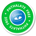 Phthalate Free round vinyl caps | LoVen special products