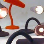 Dip moulded design lamp