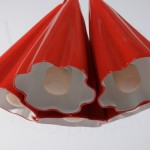 Dip moulded lamp - double dipped
